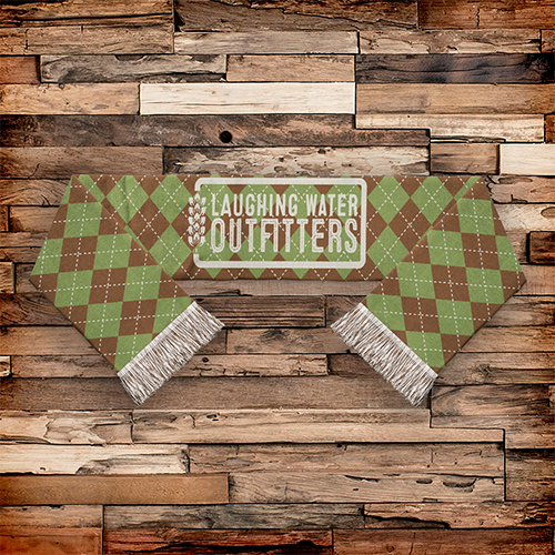 Custom Knit Scarves